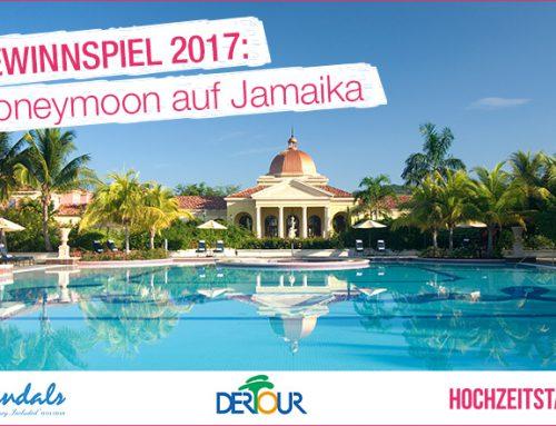 Gewinnspiel 2017: Honeymoon auf Jamaika