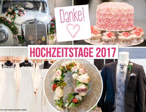 Rückblick HOCHZEITSTAGE 2017