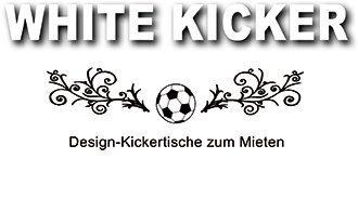 WHITE KICKER | Design-Kicker zum Mieten